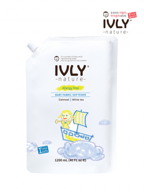 IVLY Baby Fabric Softener (Oatmeal, White teal)